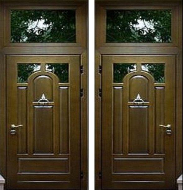 входные двери со стеклопакетами и решеткой раменское